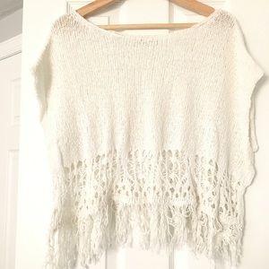 Hollister knit croptop